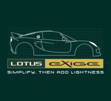 Lotus Exige blueprint - Simply, then add lightness T-Shirt