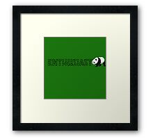 Bamboo Enthusiast Framed Print