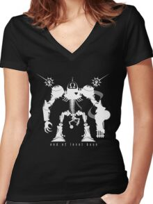End of Level Boss Women's Fitted V-Neck T-Shirt