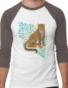 Jaguar Spots Men's Baseball ¾ T-Shirt