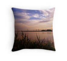 River trent  Throw Pillow