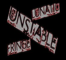 Unstable Dean Ambose  wwe shield lunatic fringe by WhoDunIT