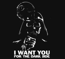 I Want You To Join the Dark Side by designjob