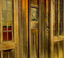 The Manor door by GlennRoger