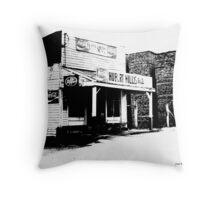 Hurbert Hillis Gro. McMinnville TN Throw Pillow