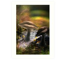 In Dream (from my exhibition) Art Print