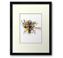 EXU Framed Print