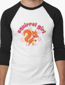 Squirrel Girl Men's Baseball ¾ T-Shirt