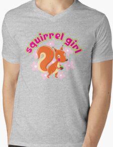 Squirrel Girl Mens V-Neck T-Shirt