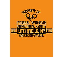 Orange is the New Black - Litchfield, NY Photographic Print