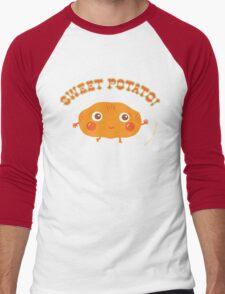 Sweet Potato Men's Baseball ¾ T-Shirt