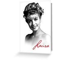 Twin Peaks - Laura [Alive] Greeting Card