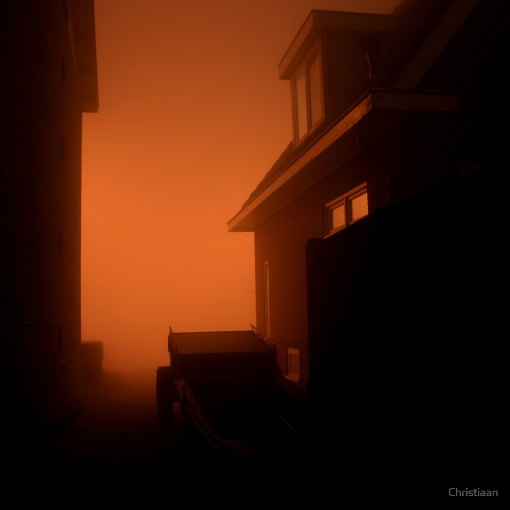 Foggy Start of 2008  by Christiaan