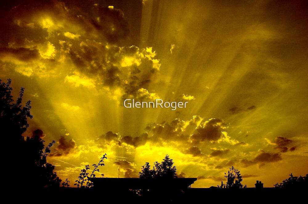 harrow sunset by GlennRoger