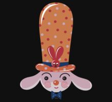 Bunny in Hat by Lyuda