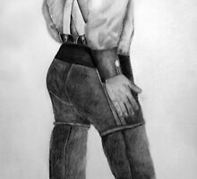 The Unkown Soldier (Traditional Art in Pencil on Paper) by deborah zaragoza