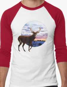Sunrise Whitetail Men's Baseball ¾ T-Shirt