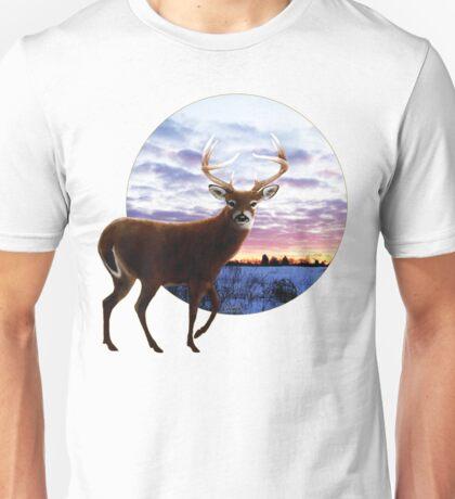 Sunrise Whitetail Unisex T-Shirt