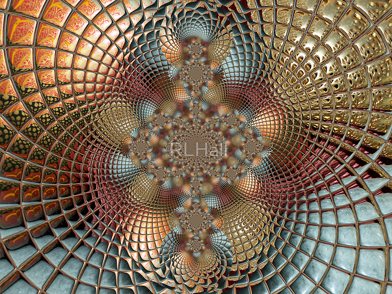 Dome of the Taj Mahal by RLHall