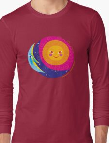 Sun Moon Long Sleeve T-Shirt