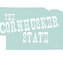 Nebraska State Motto Slogan by surgedesigns