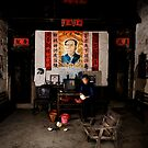 If you go carrying pictures of Chairman Mao.... by Matthew Bonnington
