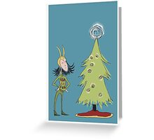 The Perfect Tree Topper Greeting Card