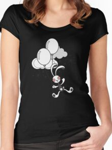 Bunny 1 Women's Fitted Scoop T-Shirt