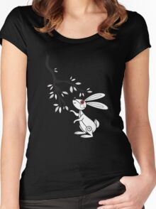 Bunny 3 Women's Fitted Scoop T-Shirt