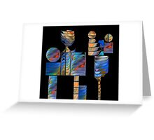 Time For Tinker Toys Greeting Card
