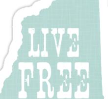 New Hampshire Slogan Sticker