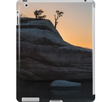 Bonsai Rock, Lake Tahoe, Nevada iPad Case/Skin