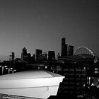 Seattle night by xstephens