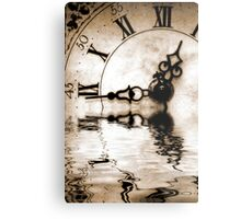 Flowing Time Metal Print