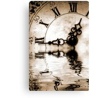 Flowing Time Canvas Print