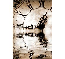 Flowing Time Photographic Print
