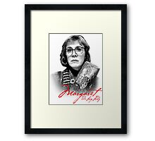 Twin Peaks - Margaret (The Log Lady) Framed Print