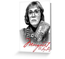 Twin Peaks - Margaret (The Log Lady) Greeting Card