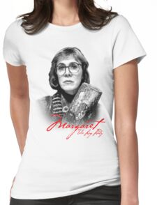 Twin Peaks - Margaret (The Log Lady) Womens Fitted T-Shirt