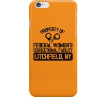 Orange is the New Black - Litchfield, NY iPhone Case/Skin