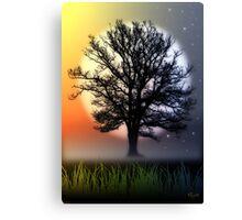 THE OAK TREE Canvas Print
