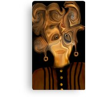I Really Don't Like This New Hairdo !! Canvas Print