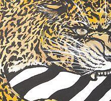 Struggle leopard   by Samantha Churchill