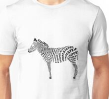 Zebra Stripes Unisex T-Shirt