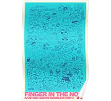 FINGER IN THE NOSE Poster