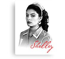 Twin Peaks - Shelley Canvas Print