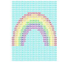 Rainbow color Photographic Print