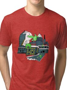 Destructive Vomit Monster Tri-blend T-Shirt