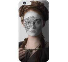 Sansa Stark Direwolf House War Paint iPhone Case/Skin