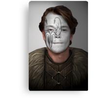 Theon Greyjoy Kraken House War Paint  Canvas Print
